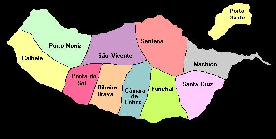 mapa concelhos madeira Welcome   Concurso dia de Portugal mapa concelhos madeira